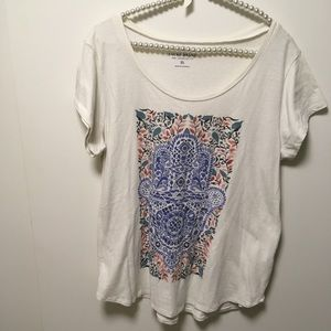 Lucky Brand Tee Shirt Top Size XL